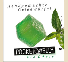 PocketGelly mit Bergminze