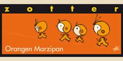 Zotter Orangen Marzipan