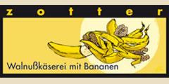 Zotter Walnusskäserei mit Bananen