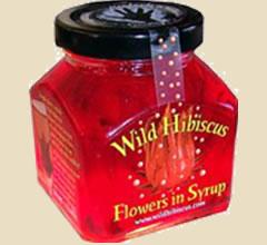wilde hibiskusbl ten in sirup wild hibiscus f r sekt und champagner kaufen. Black Bedroom Furniture Sets. Home Design Ideas
